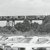 Winston-Salem Southbound railroad bridge, 1972.