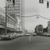 View looking east on West Fourth Street from the Liberty Street intersection, 1962.