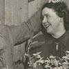 Mr. and Mrs. Frank Lustig, 1951. Frank was the gardener at Tanglewood Park.