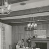 Tanglewood Park Manor House. Photo shows the Trophy Room being converted to a lounge, 1961.