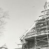 Construction on Home Moravian Church, 1966.