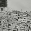 View of the Wachovia Bank Building under construction, 1965.