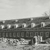 Salem Fine Arts Center under construction, 1965.