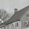 Buildings on South Main Street in Old Salem, 1964.