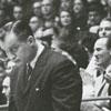Duke University basketball coach, Vic Bubas, 1964.