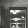 Corridors of City Memorial Hospital, 1964.