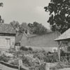 The Emma Ornsby Griffith Memorial Garden in Old Salem, 1964.