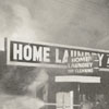 Fire at Home Laundry and Dry Cleaning on South Main Street, 1962.