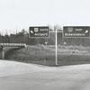 Interstate 40 signs, 1962.