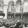 Presbyterian meeting at First Baptist Church, 1962.