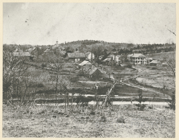 View of Bethania, 1880.