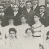 1902 graduating class of Winston High School.
