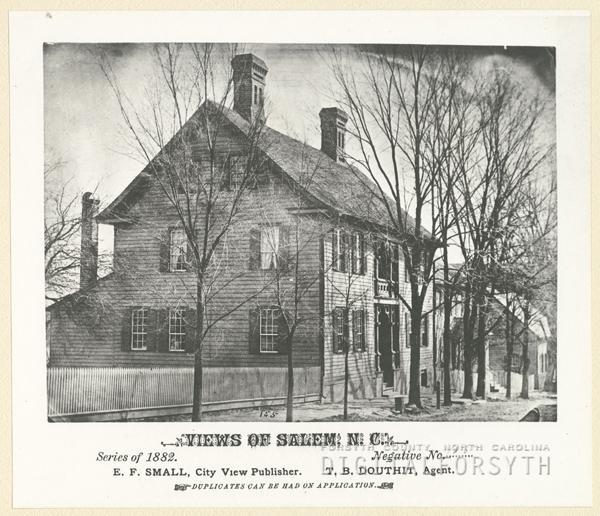 Dr. Henry Bahnson house on South Church Street in Salem.