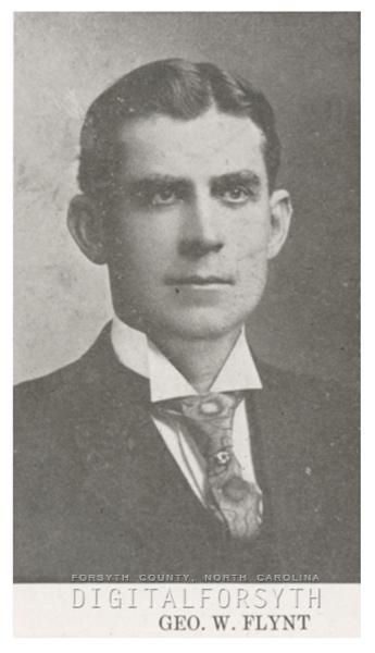 George W. Flynt, 1918.