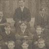 Freshman class at the Salem Boys School, 1905-1906.