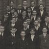Junior class at the Salem Boys School, 1908-1909.