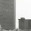 Demolition of the NCNB Building at Liberty and Third Streets, 1973.