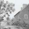Restoration of the Johann Gottlob Krause house in Bethabara, 1973, on Bethabara Road.