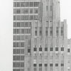 View of the Reynolds Building in the foreground, with the Wachovia Building behind, 1973.