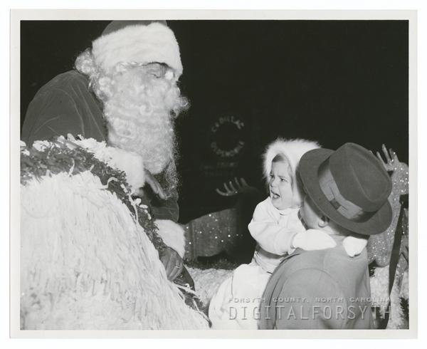 Winston-Salem Christmas Parade, 1955.