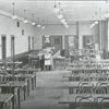 R. J. Reynolds High School cafeteria, 1932.