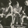 R. J. Reynolds High School basketball players, 1949.