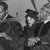 Vernon Jordan and Selma Burke, Commencement Speakers