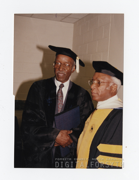John Hope Franklin and Cedric Rodney