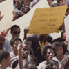 Students at Black College Day in North Carolina