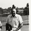 Coach Clarence Gaines with National Youth Sports Participants