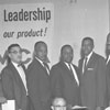 C.B. Hauser, W.A. Blount at YMCA Meeting