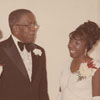 Dr. K. R. Williams and Miss Alumni Court