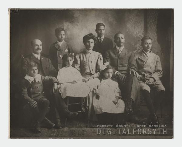 Simon Green Atkins and Family