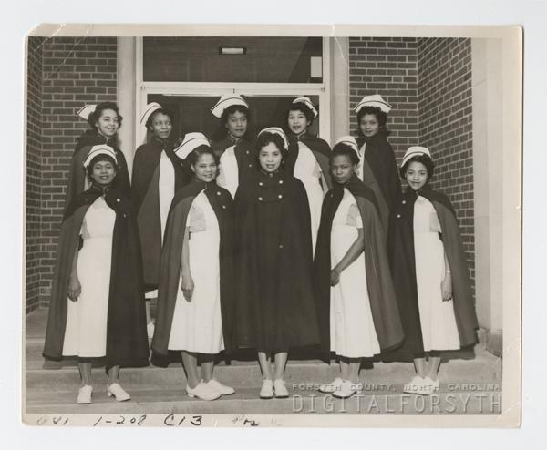 First Nursing School Graduates