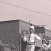 Band in Parade - WSTC Homecoming - 1945
