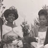 D. Davis, Miss WSSC; P. Holiday, Miss Junior