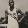 Track and field hurdler Francis Washington
