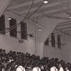 Cheerleaders at Men's Basketball WSSC vs Elizabeth City