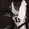 Baltimore Bullets Basketball Player Earl Monroe at Exhibition Game