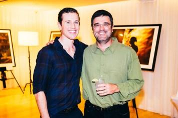 Photographer Sean McEnroe with DigitalFusion's Hugh Milstein
