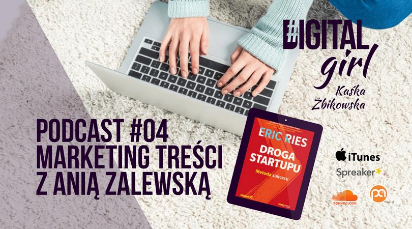Podcast #DigitalGirl / 04 / Marketing treści z Anią Zalewską