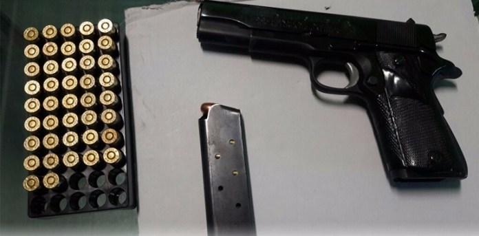 Asegura Policía Estatal en Chilpancingo un vehículo y armamento 1