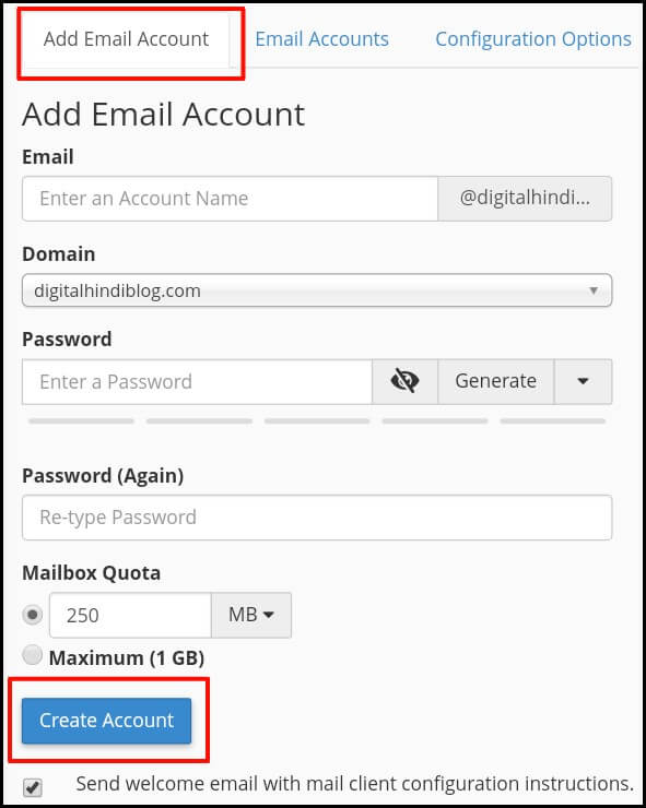 Create Business Email Id