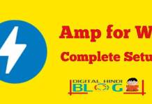 Wordpress Website Mein Amp Plugin Ka Full Setup
