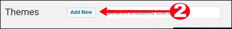 Click theme option