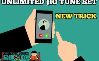 Jio Caller Tune Set