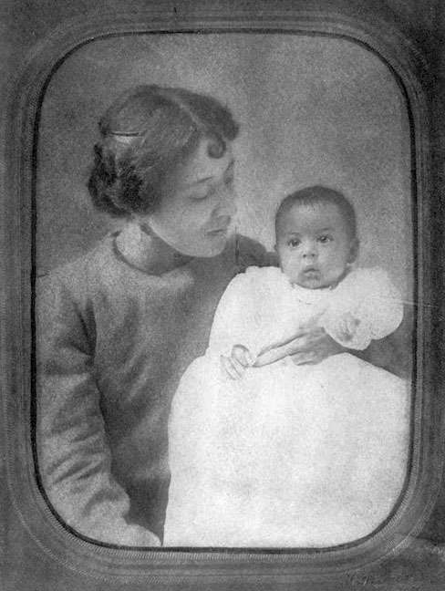 My Mother, Carolyn, Holding Me, Langston Hughes