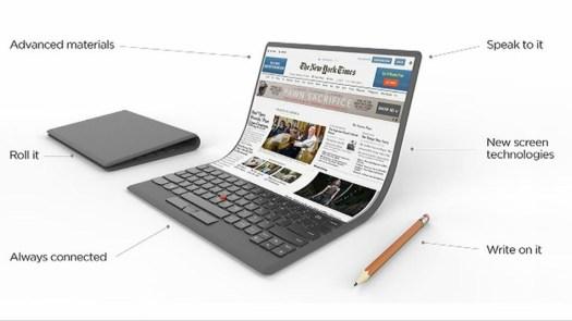 Lenovo laptop pieghevole