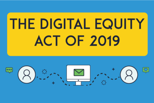 New Digital Equity Act website; House intro coming soon