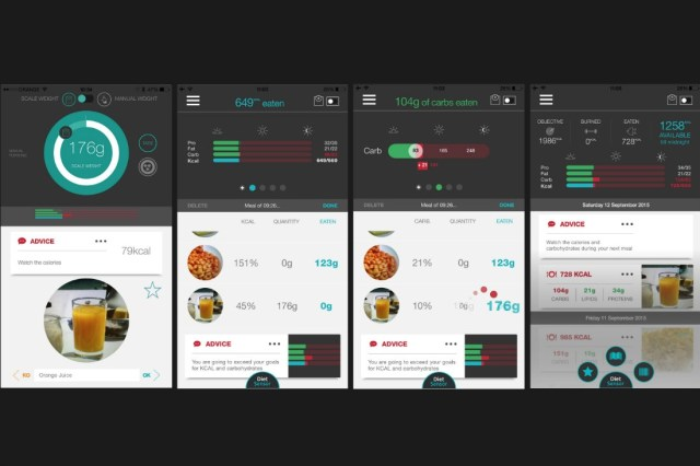dietsensor screens